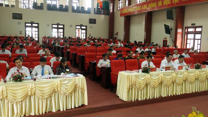 Dự đại hội có đông đảo khách mời.