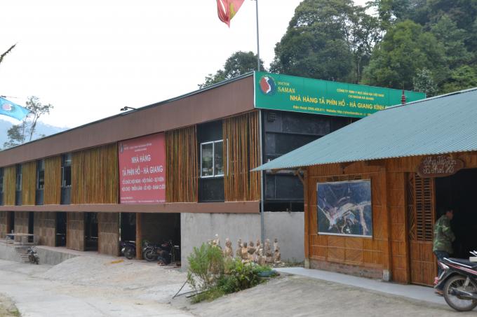 Công ty TNHH y học bản địa Việt Nam xây dựng nhà hàng trái phép.