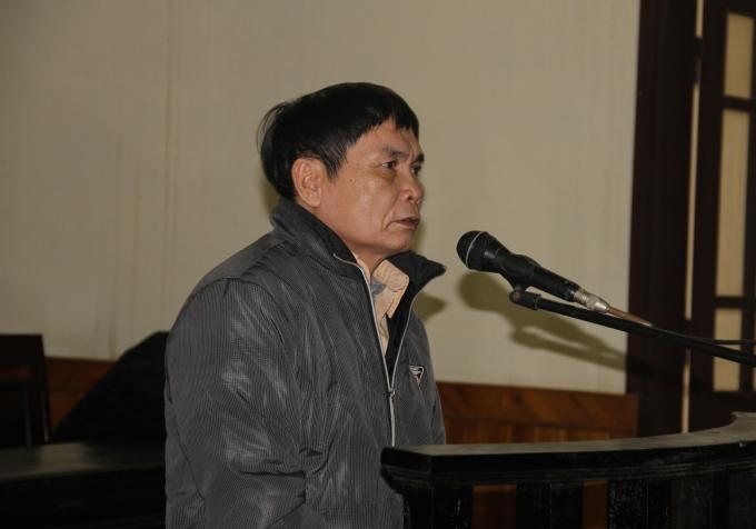 Bị cáoĐoàn Thanh Tâm tại phiên tòa sơ thẩm.