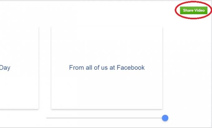 Bước 3: Chia sẻ video lên trang facebook cá nhân của mình.