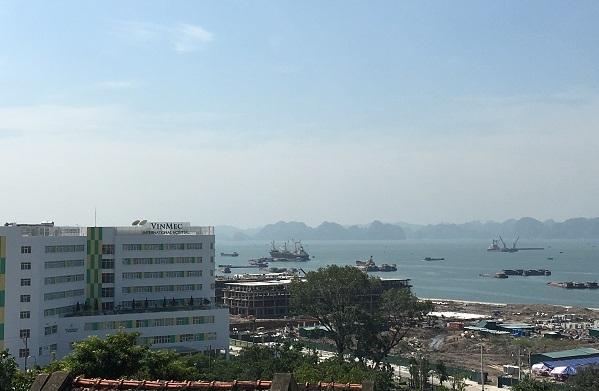 Bệnh viện Vinmec vàKhu đô thị lấn biển Vinhomes Hạ Long Baybắt đầu xây dựng từ quý 4/2015,dự kiến sẽ hoàn thành năm2017.