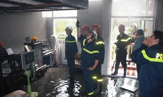 Hiện trường một số vụ cháy tại TP HCM.