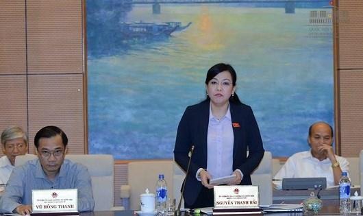 """Trưởng ban Dân nguyện Nguyễn Thanh Hải: """"Giao cấp phó giải quyết kiến nghị của cử tri là chưa thể hiện hết trách nhiệm của cấp trưởng""""."""