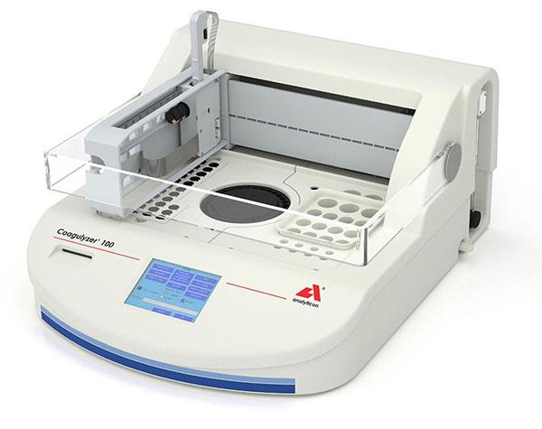 Máy phân tích đông máu. (Ảnh minh họa)