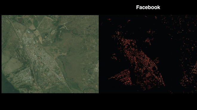 Dự án táo bạo nhưng không kém phần đáng sợ của Facebook: Bản đồ hiển thị chính xác vị trí của tất cả mọi người trên Trái đất