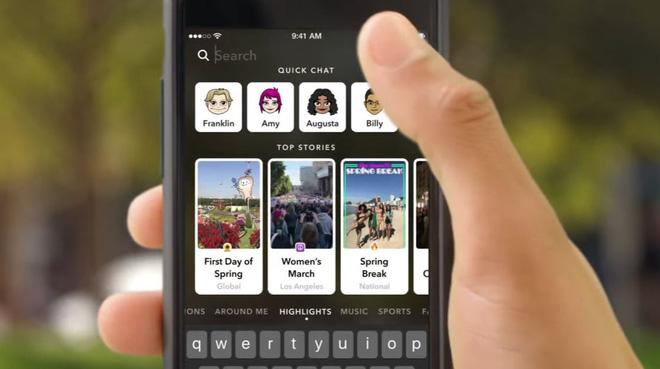 Tách rời nội dung cá nhân và nội dung do bên thứ 3 phát hành là chìa khóa giúp Snapchat trở thành mối đe dọa tới Facebook.