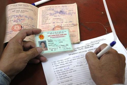 Chính phủ đồng ý bỏ hộ khẩu và chứng minh nhân dân để thay đổi hình thức quản lý thông qua mã số định danh cá nhân - Ảnh minh họa