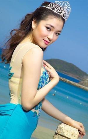 Hoa hậu Nguyễn Thị Huyền từng lọt top 15 chung cuộc của Miss World.
