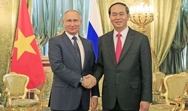 Tổng thống V. Putin nhận lời thăm chính thức Việt Nam