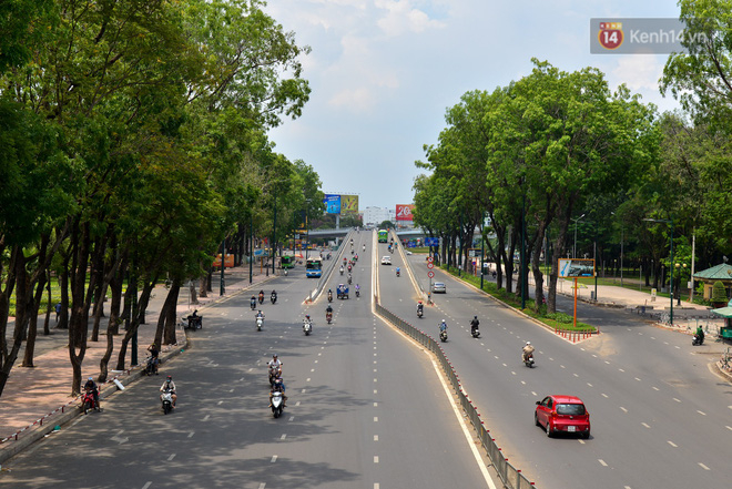 Chùm ảnh: Những ngày này, có một Sài Gòn tĩnh lặng lạ thường khi người dân đã