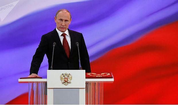 Tổng thống Nga Putin tuyên thệ nhậm chức.