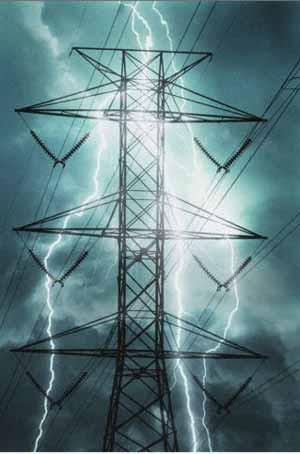 Toàn bộ huyện đảo Cô Tô mất điện sau khi bị sét đánh trúng đường điện. (Ảnh minh họa)