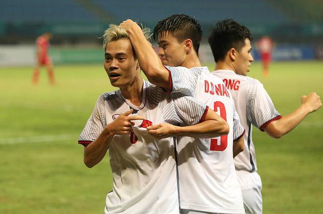 Olympic Việt Nam sẽ giành được bộ HCĐ nội dung bóng đá nam? (Ảnh: Huyền Trang)