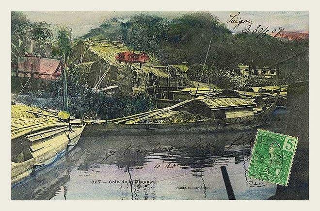 Sài Gòn đầu thế kỷ 20.