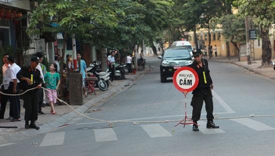 Nhiều tuyến đường bị cấm phục vụ Quốc tang. (Ảnh: Thethao247)