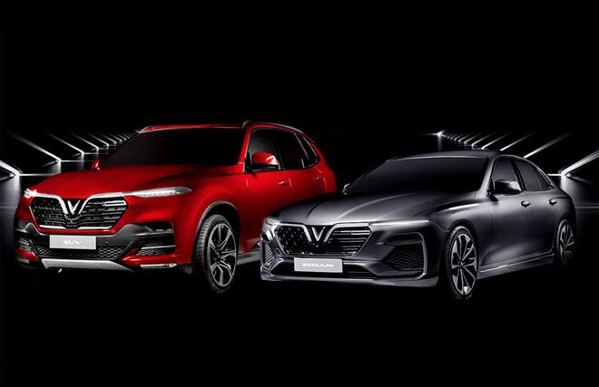 Hai mẫu xe được VinFast mang tới triển lãm thế giới.