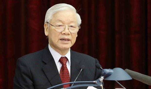 Tổng Bí thư Nguyễn Phú Trọng được giới thiệu để Quốc hội bầu giữ chức Chủ tịch nước.