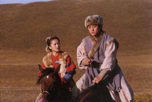 Châu Tấn và Lý Á Bằng trong