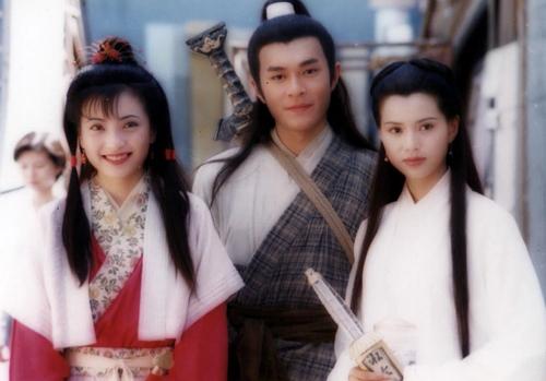 Phó Minh Hiến, Cổ Thiên Lạc và Lý Nhược Đồng (từ trái sang) trong phiên bản 1995.