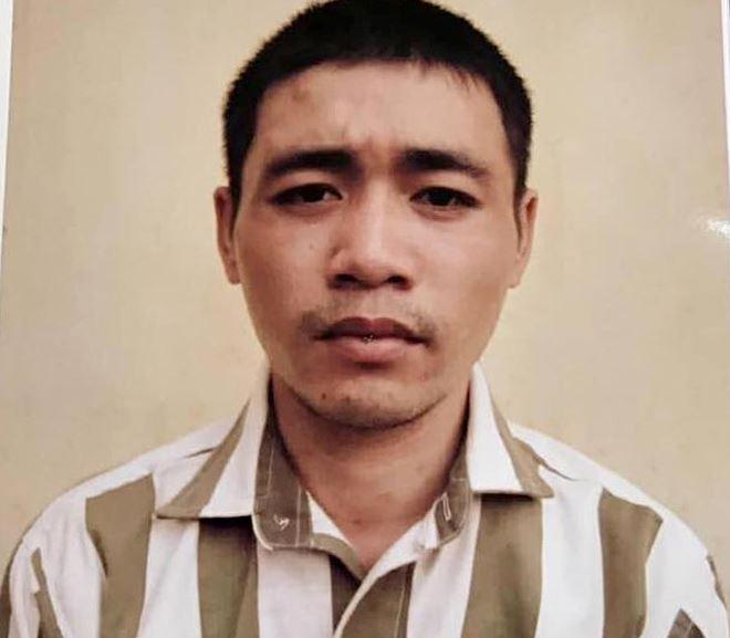 Phạm nhân Cao Đăng Thành. Ảnh Zing
