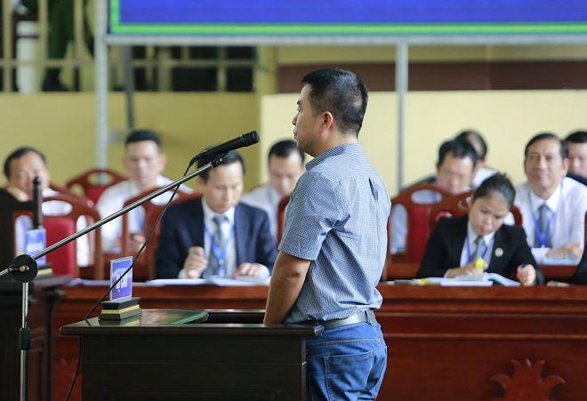 Bị cáo Phạm Quang Minh tại tòa.