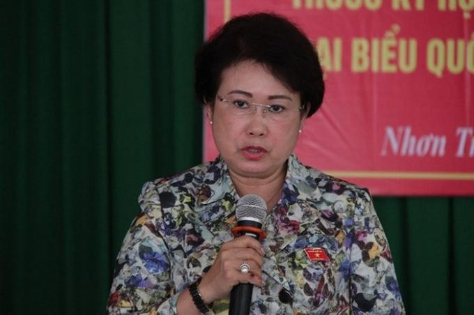 Bà Phan Thị Mỹ Thanh, nguyên Phó Bí thư Tỉnh ủy Đồng Nai.