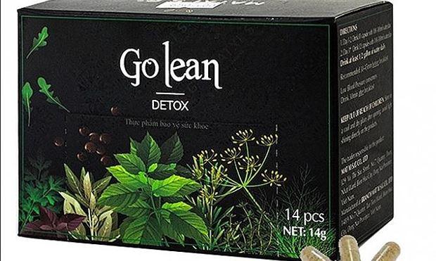 Thu hồi 2 lô sản phẩm Go Lean Detox