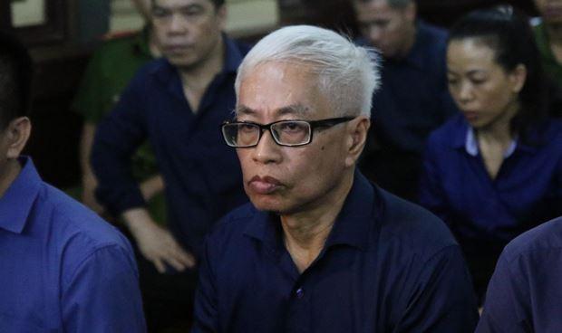 Bị cáo Trần Phương Bình tại phiên xử.