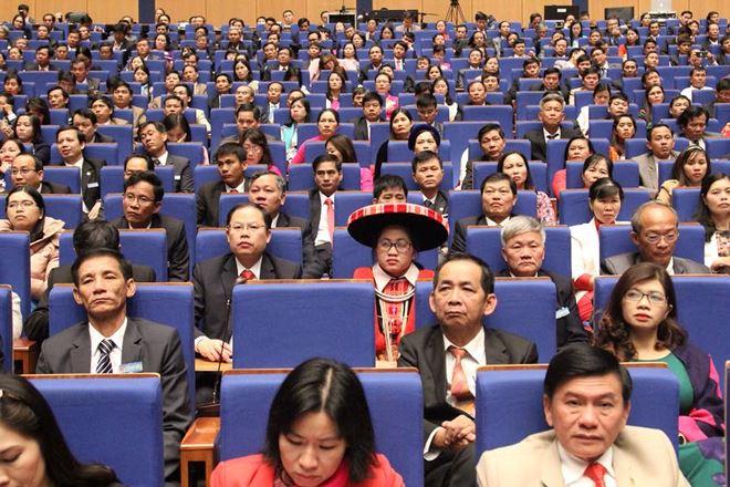 Đại biểu tham dự đại hội.