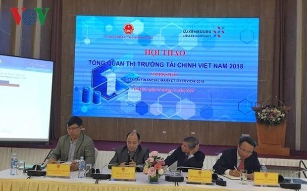 Hội thảo Tổng quan thị trường tài chính Việt Nam 2018. (Ảnh: VOV)