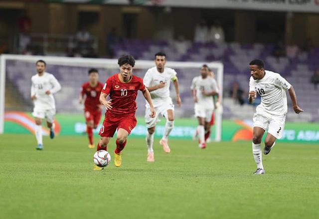 Đội tuyển Việt Nam đã có chiến thắng 2-0 để nuôi hy vọng có mặt tại vòng 1/8