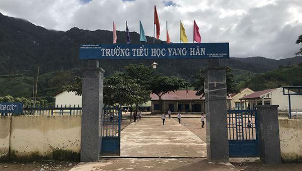 Trường Tiểu học Yang Hăn nơi bà Sơn làm hiệu trưởng.
