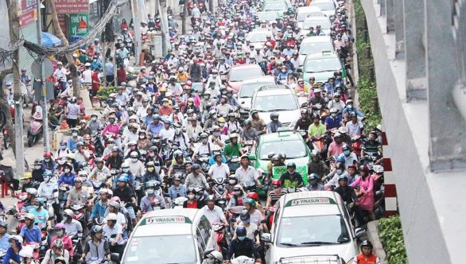 TP HCM trong năm 2019 giảm nạn kẹt xe là một trong những kỳ vọng của mọi người dân.