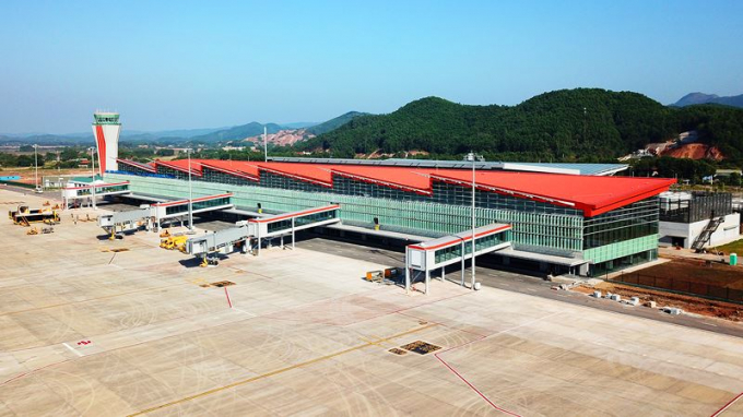 Cảng hàng không quốc tế Vân Đồn - sân bay quốc tế đầu tiên do tư nhân đầu tư.