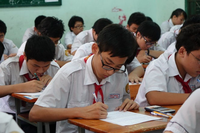Toàn bộ học sinh lớp 7 tại TP Hồ Chí Minh sẽ làm bài khảo sát bằng hình thức trực tuyến trong năm học 2018 - 2019.