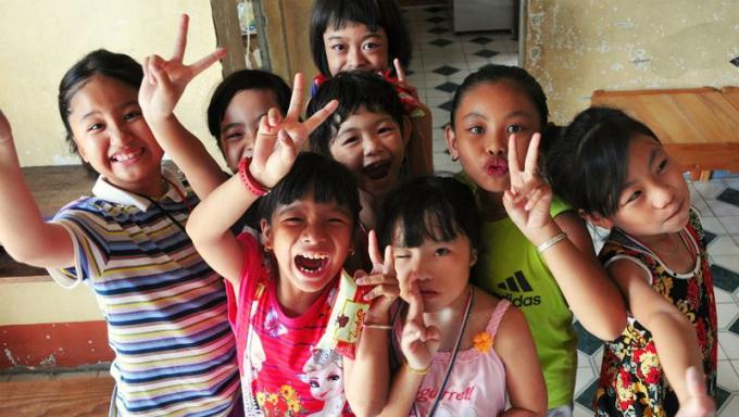 Học sinh khuyết tật được học tập, sinh hoạt tại Trung tâm nuôi dạy trẻ khuyết tật tỉnh Đồng Nai.