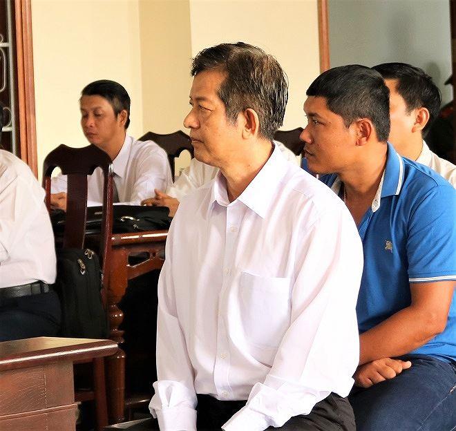 Bị cáo Nguyễn Minh Chuyển tại tòa.