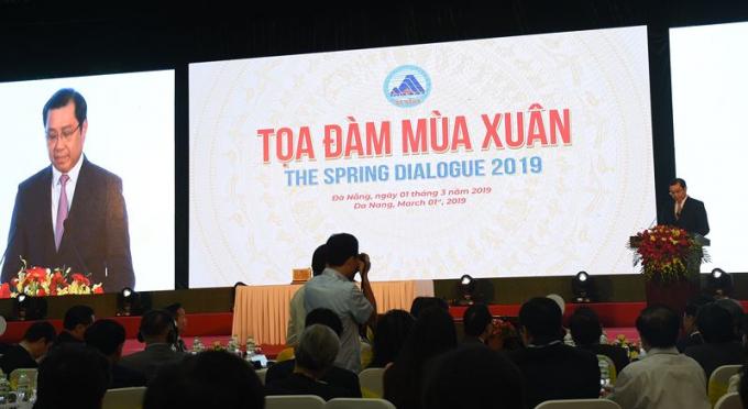 Ông Huỳnh Đức Thơ, Chủ tịch UBND TP. phát biểu khai mạc Tọa đàm.
