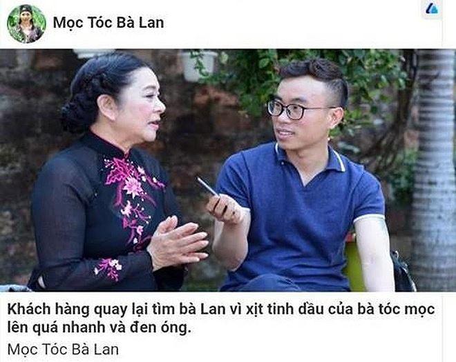 NSƯT Thanh Loan đóng vai