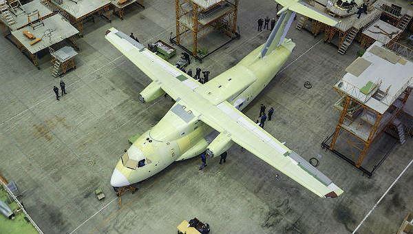 Chiếc máy bay của Nga.