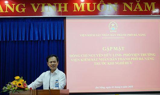 Chân dụng nguyên Viện Phó VKSND TP. Đà Nẵng.
