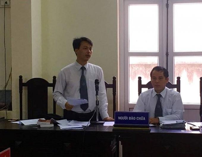 Luật sư Cường chỉ ra nhiều điểm mâu thuẫn và vô lý trong vụ án.