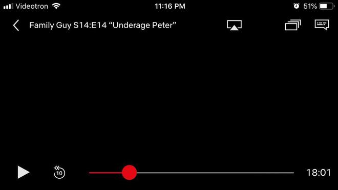 Netflix cũng sử dụng cơ chế bảo mật tương tự khi chụp/quay màn hình đều ra toàn màu đen