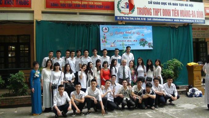 Nhiều học sinh Trường Đinh Tiên Hoàng đã trưởng thành sau những bài học… làm người
