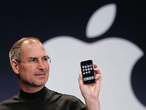 Steve Jobs - người sáng lập ra hãng Apple