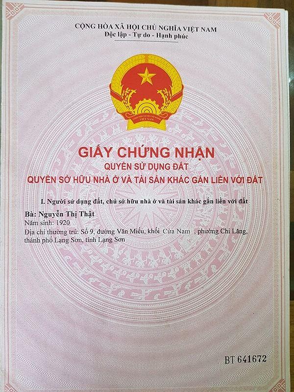 VKSND tỉnh Lạng Sơn cho rằng, TAND TP Lạng Sơn không đưa cơ quan có thẩm quyền đã cấp sổ đỏ cho bà Thật tham gia tố tụng sẽ ảnh hưởng đến quyết định của bản án và việc thi hành án sau này