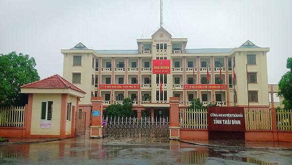 Trụ sở Công an huyện Tiền Hải, tỉnh Thái Bình