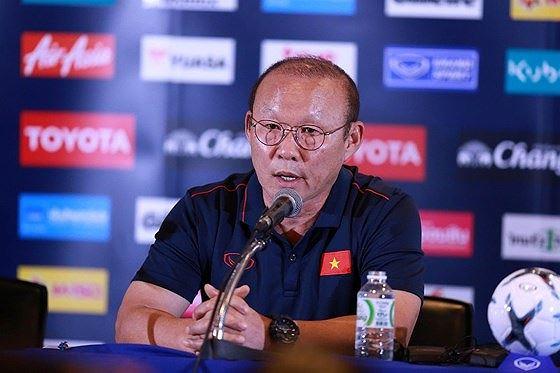 HLV Park Hang- Seo rất bình thản và tự tin vào nội lực các cầu thủ.