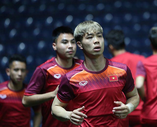 Tại trận đấu lần này, Công Phượng là cái tên được chú ý nhất, nhận được nhiều vọng lớn vì từng gia nhập đội bóng Hàn Quốc.