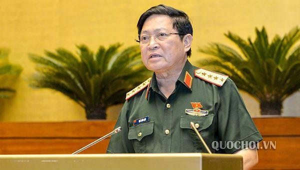 Bộ trưởng Bộ Quốc phòng, Đại tướng Ngô Xuân Lịch